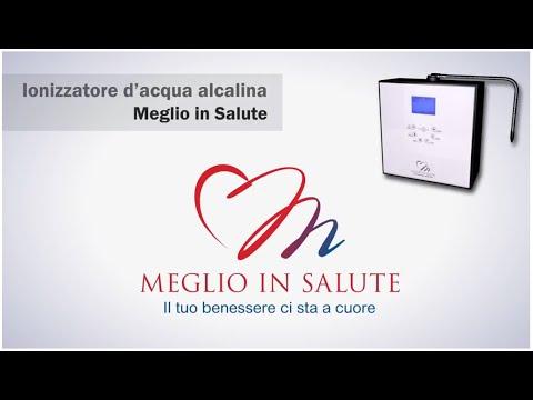 Ionizzatore d'acqua Meglio in Salute - Acqua Alcalina