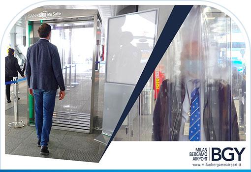 cabina-tunnel-sanificazione-sanapur-be-safe-aeroporto-orio-al-serio-mis